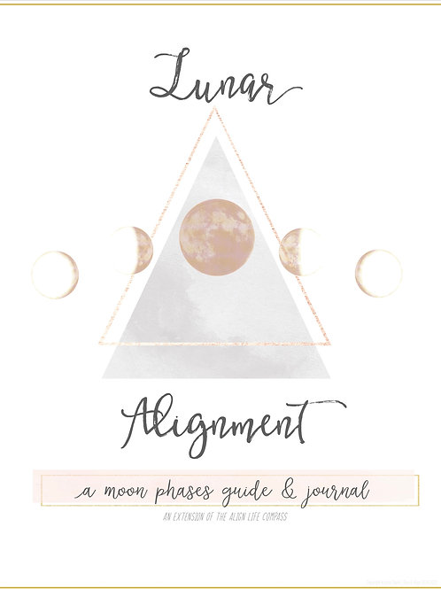 Lunar Alignment- A moon phases guide & journal (digital)