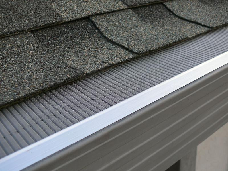 Gutter guard we use is ideal for Pine Straw . Gutter clean and install from $5 per foot