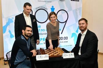 В Краснодаре определили лучших шахматистов среди журналистов