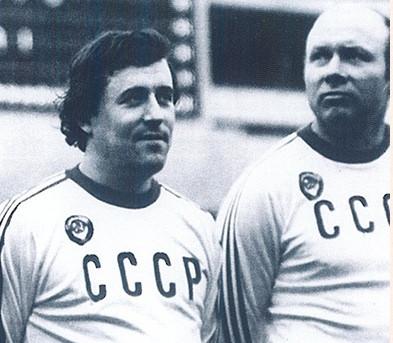 М. Гершкович и Э. Стрельцов / Фото Чемпионат.com