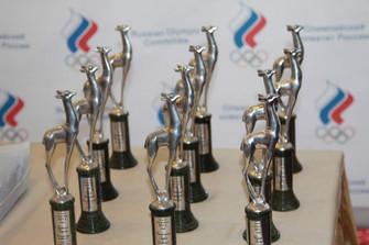 Лучшие атлеты страны получили призы от Федерации спортивных журналистов России