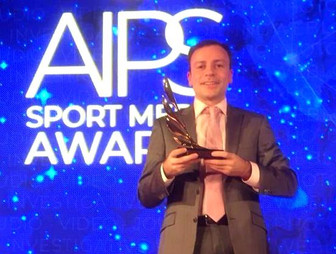 "Игорь Рабинер - победитель  конкурса  AIPS ""Sports Media Awards"""