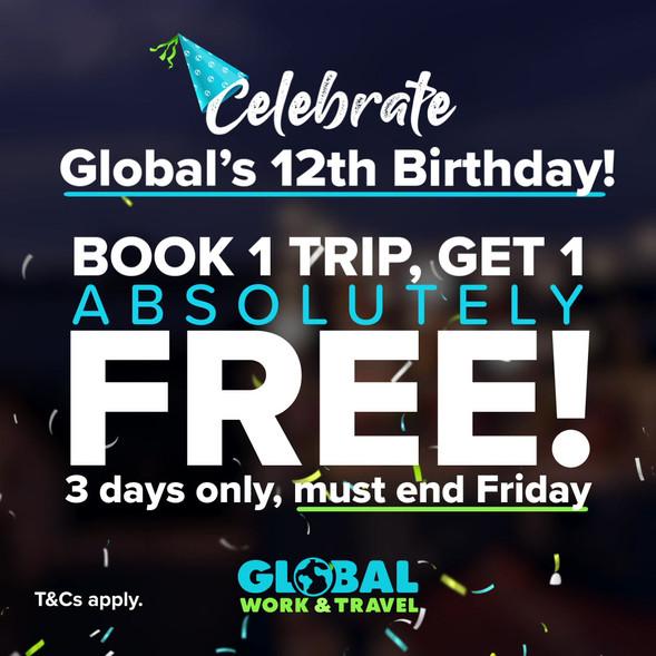 Birthday Sale Social Media Feed Video Ad