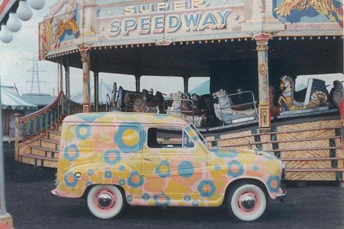 The artist's Austin A35 Van, 1967