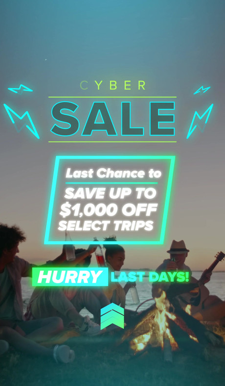 Cyber Sale Social Media Story Video Ad