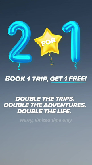 2For1 Birthday Sale Social Media Story Video Ad