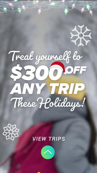 Christmas Sale Social Media Story Video Ad
