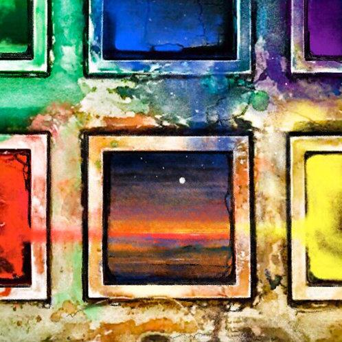 Paintbox Landscape