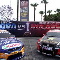 V8 Supercars Ford Vs Holden