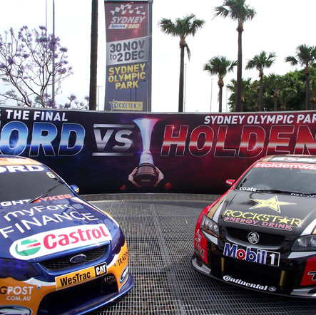 V8 Supercars Ford Vs Holden