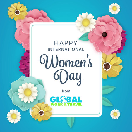 Women's Day Social Feed Animation