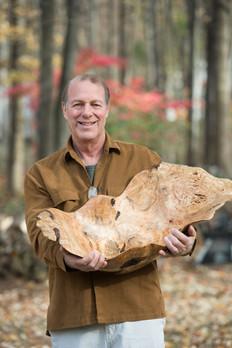 Bruce Fransen, Wood Sculpture