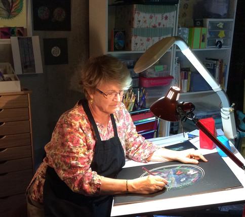 Tara Bell, Dreamy Pastels and Acrylics
