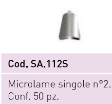 Microlame Safe singole N°2