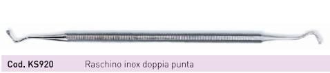 Raschino LUXE Inox doppia punta