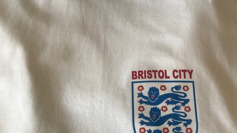 City Euros Tee Shirt in White