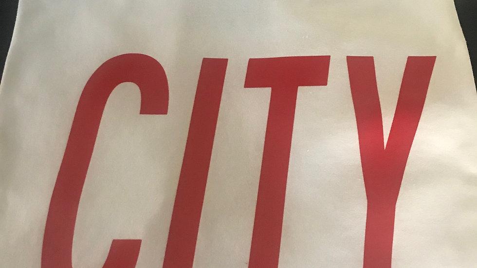 CITY with Fanzine Logo Tee Shirt