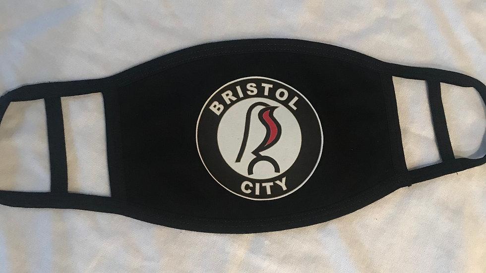 City Face Masks in Black