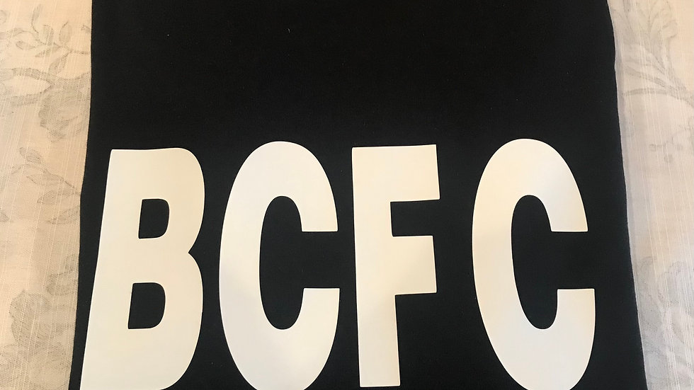 BCFC Tee Shirt in Black