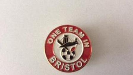 Original One Team In Bristol Logo Badge