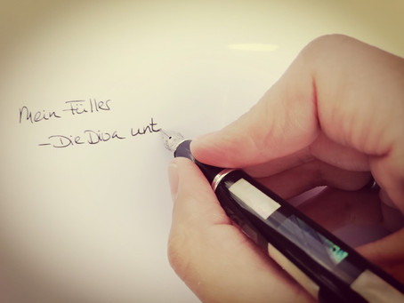 """""""Die Diva unter den Schreibgehilfen"""" – Oder: Der Füllfederhalter"""