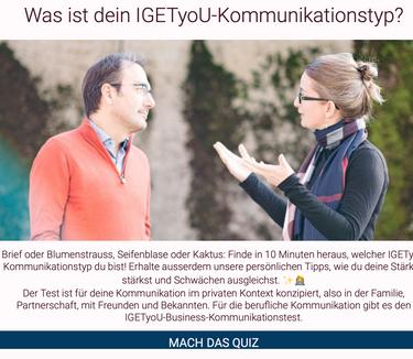 Der IGETyoU-Kommunikationstypen-Test