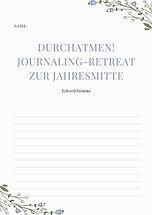 Journaling-Retreat-Schreibmappe-Videokur