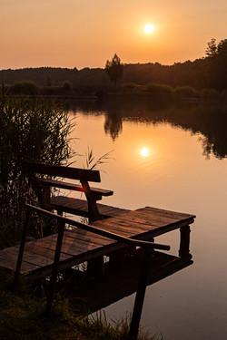 Sonnenaufgang am Luzinsee