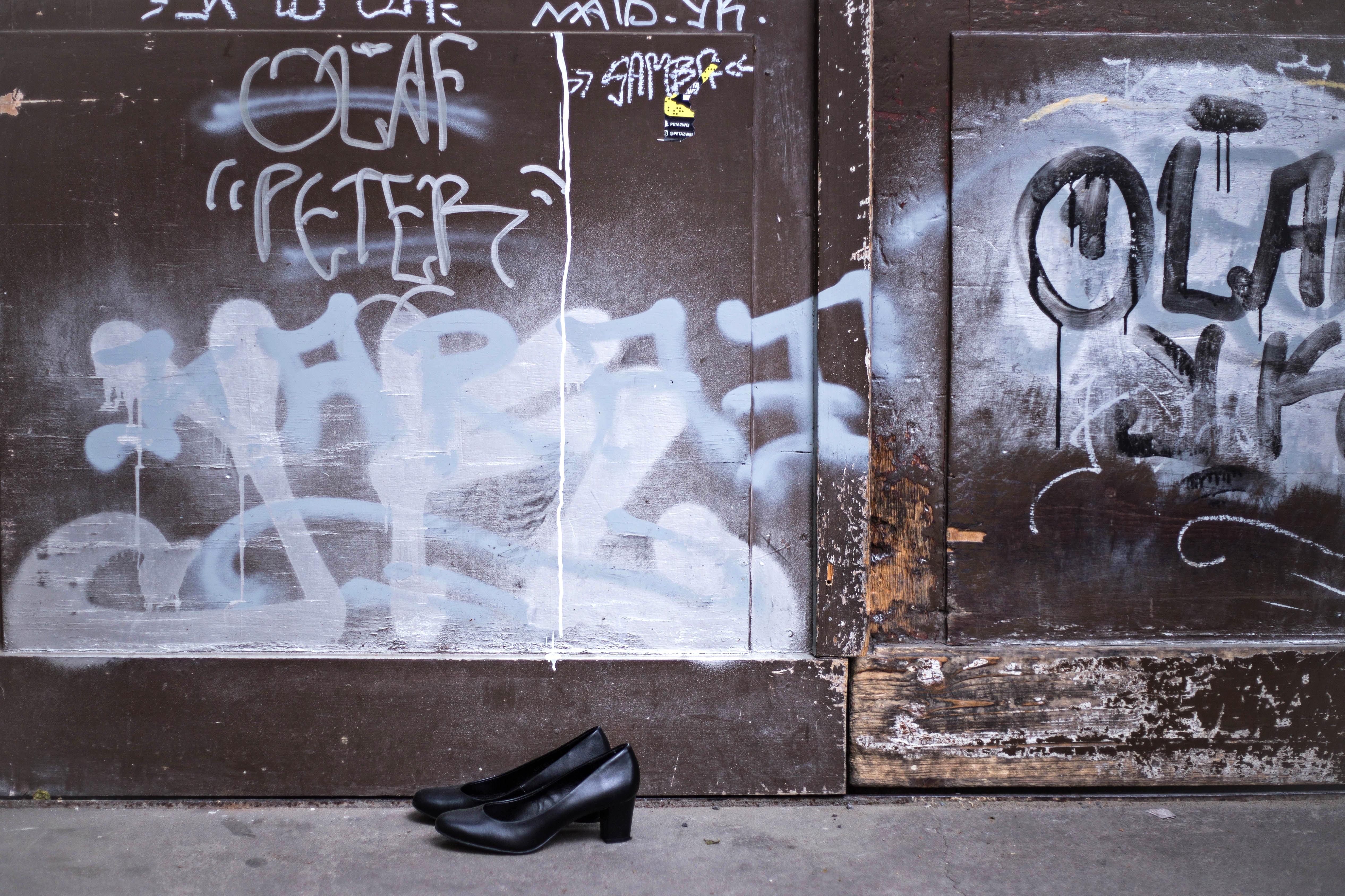 Olaf Peter und Schuhe