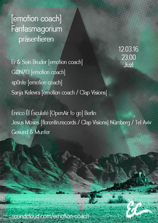 [emotion coach] und Fantasmagorium laden zum Feiern ein ins JuzI Göttingen