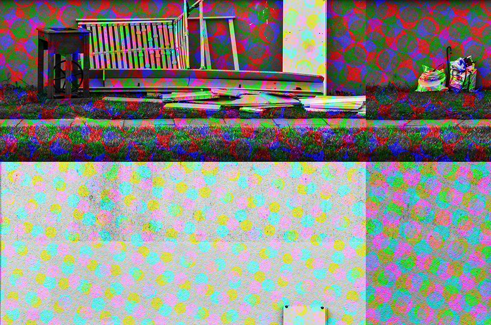 Wand und Sperrmüll