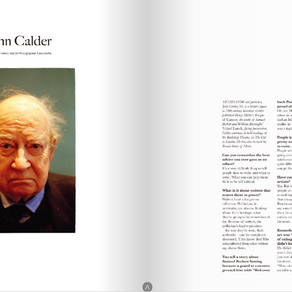 Interview with John Calder, 2010