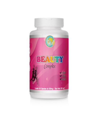 Beauty Complex Hair, Skin & Nails 60cps