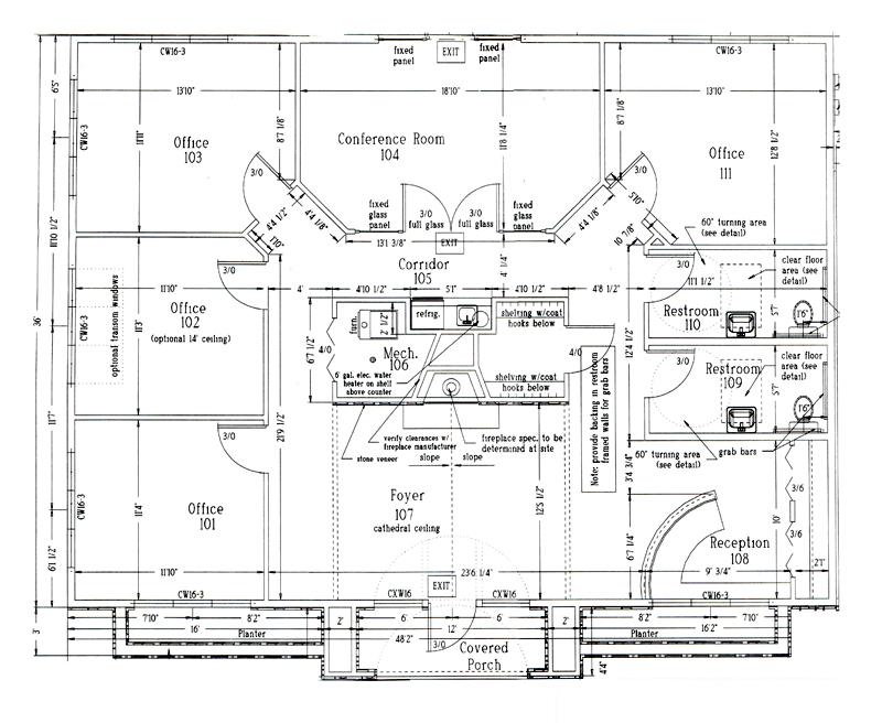 Suites 400-600 Floor Plan