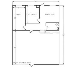 Suite 114 Floor Plan