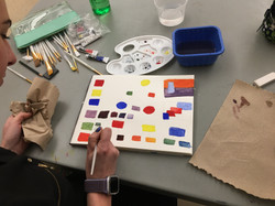Adult Ed Water Color Class Sample