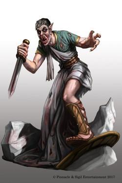 Cleitus Vampire Spot Illustration