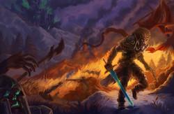 Battle Quest Cover Illustration