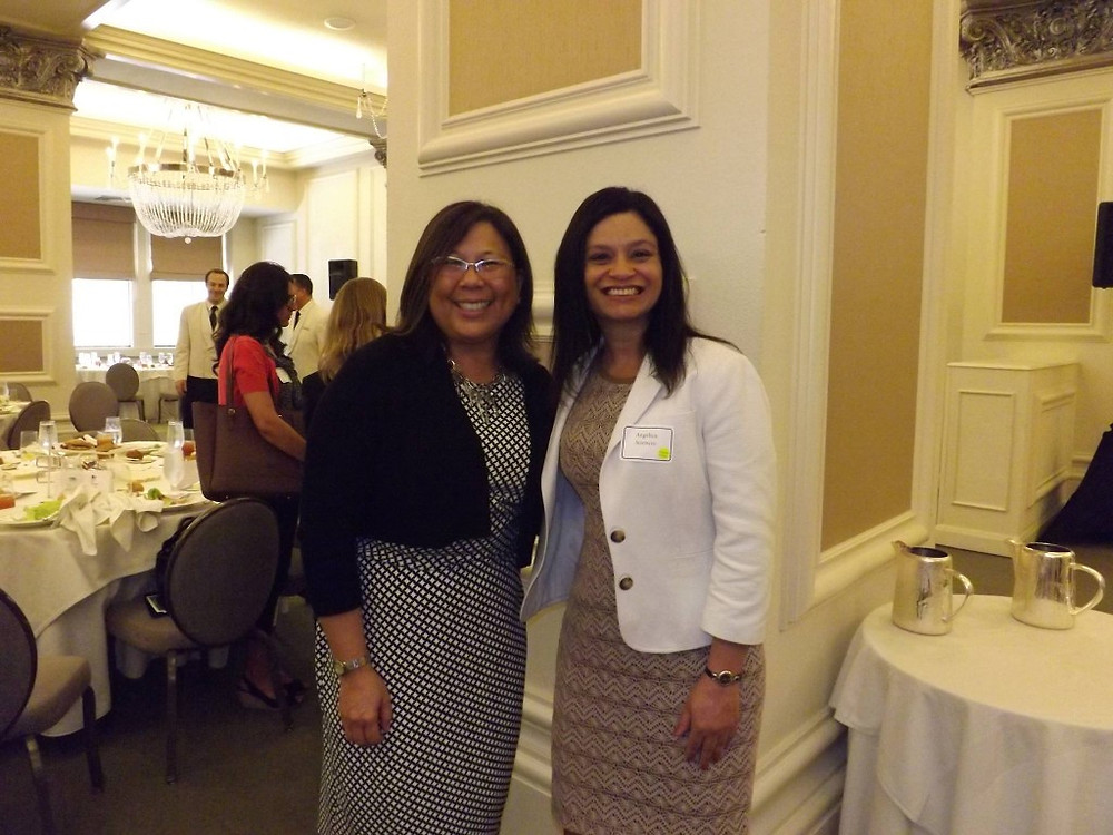 Angelica Sciencio & Controller Betty Yee