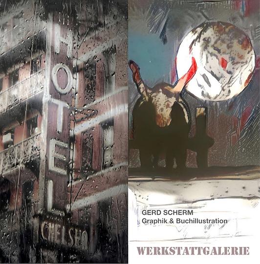 Gerd Scherm: Graphik und Buchillustration