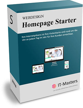 Homepage Starter für Unternehmen