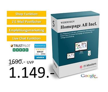 Homepage All Incl. für 1149€