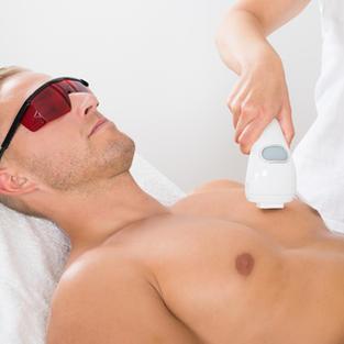 Haarentfernung für Haut an Brust & Bauch