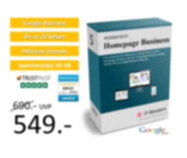 Homepage Business für 549€