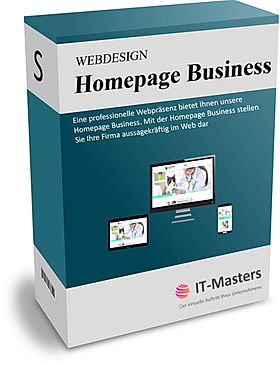 Homepage Business Paket für Unternehmen