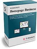 Homepage Business Paket