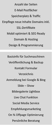 Business Paket im Detail