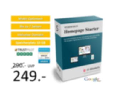 Homepage Starter für 249€