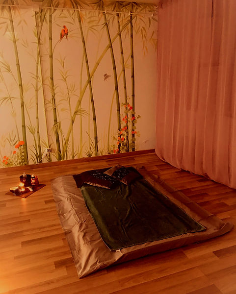 Tantric massage bed, Sensual massage therapy
