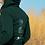 Thumbnail: Full Zip Hoodie with Four Pillars